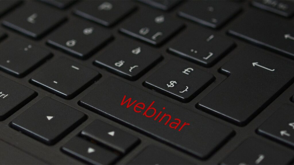 webinar, webcast, online learning